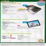 Starhub Home Broadband MaxInfinity Premium Plus Free Lenovo IdeaPad Y470 Notebook, Samsung Galaxy Tab 8.9, MaxInfinity Ultimate