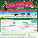 Roadshow Exclusives, Fibre Home Broadband Free ASUS K43SD Notebook White Christmas Edition, MaxOnline Ultimate