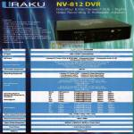 NV-812 DVR Specifications Media Player Bell Systems UKC Electronics