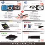 Various HP CW450 Digital Camera, HP S300, Apacer, Mcafee, Acer External DVD Optical Drive, Toshiba Flash Memory