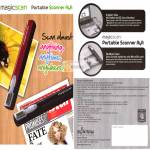 Magicscan Portable Scanner A4A, Specifications