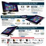 AIO Desktop PC ET2701INTI, ET2300INTI, ET220INTI