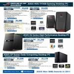 Desktop PC CG8580 Extreme, CG8480, CG8270-ivy W8, CP6230-ivy, CP6230-ivy