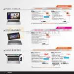 Notebooks VivoBook, S400CA-CA022H, X202E-CT009H, RT TF600T, S46CM-WX121H, S46CM-WX046H