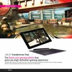 Transformer Pad Features