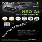 MiniX Neo G4 Android Dual Core Pocket PC Mini Desktop PC