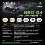 MiniX Neo G4 Android Dual Core Pocket PC Specifications