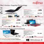 Fujitsu Notebooks Lifebook SH772 C, SH572 B5W R5W W5W, AH532 DB7W DW7W