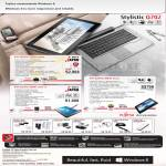 Fujitsu Tablets Stylistic Q702 G5W8P, Q550 GBWP-30, M532 GBA40, Accessories Mouse, Sepaker, Earphones, Router