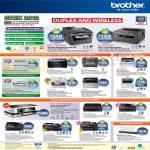 Printers DCP 7055 J140W, MFC 7860W 7360 9320CW J2510 J430W J625W J6510DW J6710DW, HL 2270DW 2130 2240D 3070CW, DS-600 Scanner