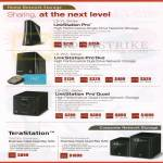 NAS Home Network Storage LinkStation Pro LS-VL, Pro Duo LS-WVL, Pro Quad LS-QVL, TeraStation TS5200D, TS5400D