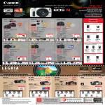 Digital Cameras DSLR EOS 100D, M, 600D, 650D, 60D, 7D, Video Camcorders LEGRIA HF G10, M52, M56, R38, R36, FS46