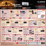 Digital Cameras IXUS 510HS, 500HS, 240HS, 125HS, PowerShot G1X, SX50Is, G15, S110, D20, S100, SX 500 IS, Sx 260HS, SX 160 IS, A4000 IS, A3400 IS, A2300