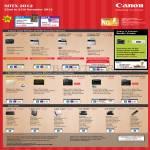 Laser Printers ImageCLASS LBP7018C, MF8010Cn, MF8080Cw, LBP6000, MF3010, MF4750, MF4420w, MF4870dn, Scanners LiDE 110, 210, 700F, CS 5600F, 9000F, P215