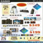 Digital Cameras EX-TR150, EX-H50, Ex-ZS150
