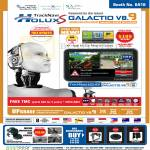 GPS Holux S Galactio V8.9, TMC, TrackNavi 62S-AV