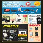 Red Dot Photo Chromage Accessories, Videography, Nexto Di ND2730 Photo Storage, Powerex Imedion Battery, Sanyo Eneloop, Mobile Booster