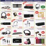 Accessories Speakers, Earphones, Headphones, Chargers, Sol, Monster, Gear4, Sennheiser PX685i, MX685 Headphones, Earphones, Energizer XP20001 External Charger, MiPow