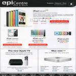 Apple IPod Touch, IPod Classic, IPod Nano, IPod Shuffle, Apple TV, Mac Mini