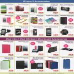 IPhone 5 Accessories Zenus, Spigen, Kongo Case, Screen Protector, Belkin, IPad Mini, IPod, Gosh, Uniea, STM, Gecko