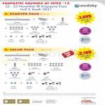 GSS Flexible Power Outlet System Starter Pack, Value Pack