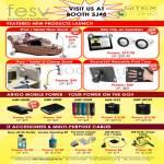 IPad Tablet Floor Stand, G-Clamp, Speakers, Sleeve360 IPad Case, Arigo External Battery, Accessories