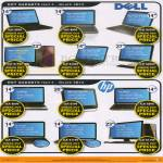 Notebooks Dell HP