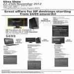 Desktop PC Pavilion S5-1325d, Notebooks Omni 120-1128d, S5-1341d, TouchSmart 620-1199d