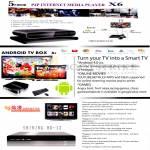 Media Player P4P X6, TV Box A9, Shining HD-12