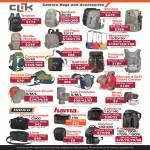 Clik Camera Bags Accessories Tropfen, Venture, Escape, Jet Pack, Contrejour, Sprint, Hama Sorento, Naneu Correspondent