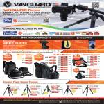 Vanguard Awards, Accreditations, Quovio Bags, Up-Rise II, Pampas II, Carbon Fiber Tripods Abeo, Alta, Espod