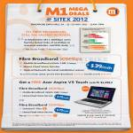 Broadband Fibre 100Mbps, Free Acer Aspire V5 Touch, S7, Fixed Line, Mobile Broadband