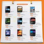 Mobile Phones Sony Xperia Miro, Acro S, HTC Desire X, LG Optimus 4X HD, Sharp SH530U, Blackberry Bold 9900 9790, Huawei Honor Ascend P1