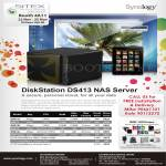 MCL Distribution Ace NAS Synology DiskStation DS411J, DS411, DS413, DS413J, DS411Slim