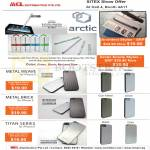 Arctic Architect Stylus, Arctic Emote Stylus, Metal Weave IPhone 5 Case, Brick, Titan