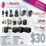 MyRepublic 30 Dollar Redemption, Hiti, Synology, Foscam 2
