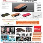 Tridea IPhone 5 Italian Flip Case, IceCoat Blossom, Peau, Carbon, Glazar, Seamless