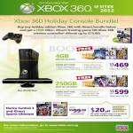 Xbox 360 Holiday Console Bundle Kinect 4GB, 250GB, Dance Central 3, Kinect Sports Ultimate