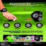 GPS Forerunner 10 Approach S3 Golf Watch