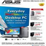 ASUS Desktop PC CM6431, CM1740-A4, CM1740-A8