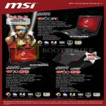 Corbell MSI Notebooks GT60 1AC, GE70 0ND, GE60 0ND