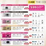 Digital Cameras Coolpix S30, L25, S2600, S3300, S6300, P310
