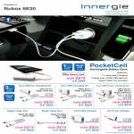Innergie PocketCell External Battery, Duo USB Charging Kit, Accessories