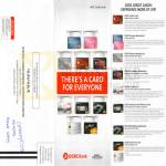 OCBC Credit Cards Features Cashflo, Titanium MasterCards, Platinum, Arts, Frank, Robinsons Visa, Best, Plus