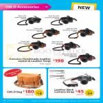Digital Camera OM-D Accessories Bag, Leather Neck Camera Strap, Jacket