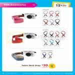 Digital Camera Pen Accessories, Fabric Neck Strap, Heart, Star Patterns, Jean Denim Heart, Star