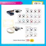 Digital Camera Pen Accessories, Neck Strap, Dot Pattern, Jean Denim Fabric, Lace, Checkered