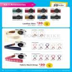 Digital Camera XZ-1 Accessories, Leather Skin, Fabric Neck Strap