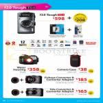 Digital Camera F2.0 Tough TG-1, Water Housing, Camera Case, Fisheye Converter, Tele Converter, Converter Adaptor