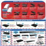 Bundle Specials, Sharehub Device Servers, ADSL Modems, Switch, 56K